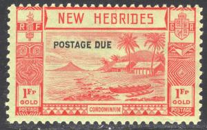 NEW HEBRIDES-BRITISH SCOTT J10