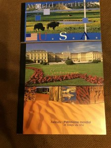 UNITED NATIONS; Early 2000s World Heritage beautiful MINT MNH BOOKLETS (9)
