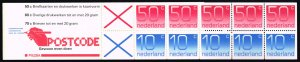Netherlands #541a Numeral Complete Bklt Pane of 10; MNH (5Stars)