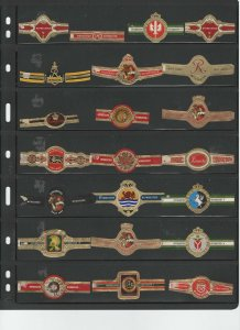 CIGAR BANDS... RITMEESTER ...ALL DIFFERENT (CB-013)