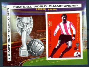 1970Yemen (Arab R. YAR )1107/B125b1970 World championship on football of Mexi