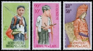 Laos Scott C43-C45 (1964) Mint NH VF Complete Set W