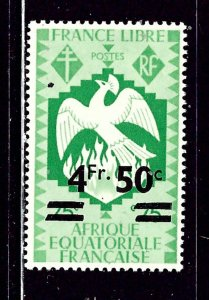 French Equatorial Africa 164 MLH 1947 issue