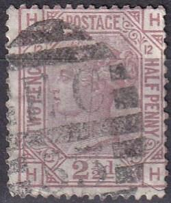 Great Britain #67 Plate 12 F-VF Used  CV $60.00 Z23