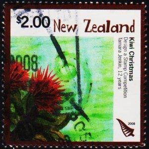 New Zealand. 2008 $2 Fine Used
