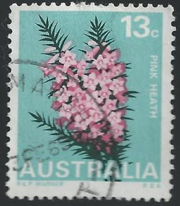 Australia #435 13c Flower - Pink Heath