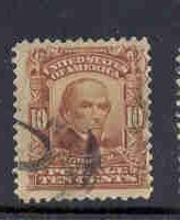 USA  Sc307 1903 10c pale red brn Webster stamp used