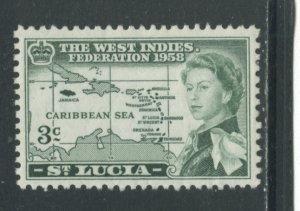 St. Lucia 170  MHR cgs