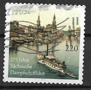 Germany used - 2011 - Dampfschifffahrt high value