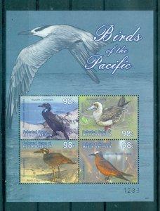 Birds - Micronesia - Sc# 859. 2009 Birds. MNH Souv. Sheet. $8.00