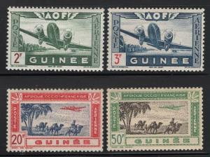 French Guinea 1942 Airmail set Sc# C6-13 mint