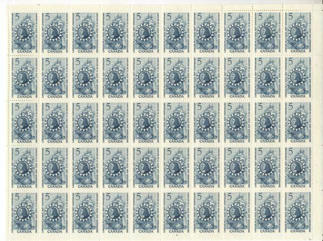 Canada - 1966 De La Salle Sheet of 50 VF-NH #446