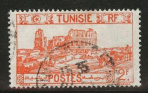 Tunis Tunisia Scott 104 used 1939 stamp