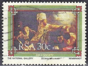 SOUTH AFRICA SC# 703  *USED*  1987  30c    SEE SCAN