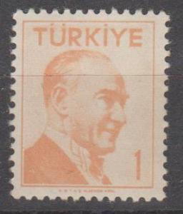 Turkey #1227 MNH F-VF (ST1829)