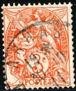 FRANCE #111 , USED PAIR - 1900 - FRAN144NS9