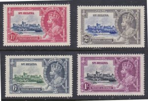 St. Helena #111-14 MNH Jubilee CV $52.50