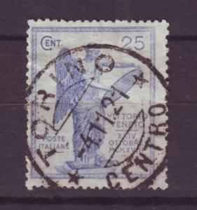 J16932 JLstamps 1921 italy hv of set used #139 victory $145.00 scv