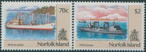 Norfolk Island 1990 SG488-493 Ships MNH