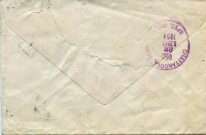 U.S. Scott 806 (3) Prexies/Prexys & E20 on Airmail Special Delivery Cover