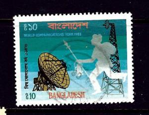 Bangladesh 231 Used 1983 World Communications Year