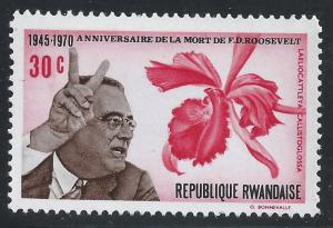 Rwanda #382 30c Franklin D Roosevelt - MNH