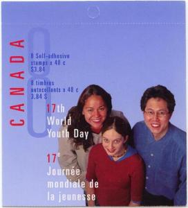 Canada - 2002 48c World Youth Day Complete Booklet #BK261a