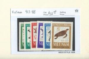 Vietnam 413-418  MNH