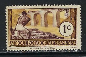 FRENCH EQUATORIAL AFRICA 33 MOG N865-4