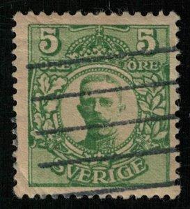 1911-1914, King Gustaf V, Sweden,5 Ore (Т-6997)