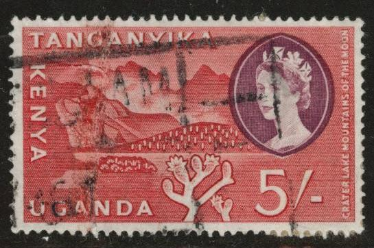 Kenya Uganda and Tanganyika KUT Scott 133 used