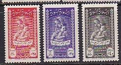 Syria 1955 Scott 391, C194-C195 Mother's Day MNH