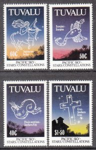 Tuvalu 586-589 Constellations MNH VF