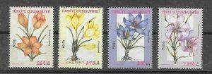 TURKEY - FLOWERS, MNH , 2000