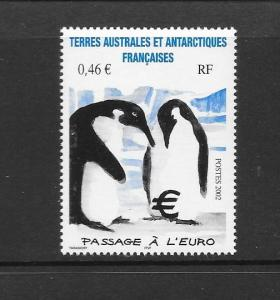 PENGUINS- FRENCH SOUTHERN ANTARCTIC TERRITORIES #314  MNH