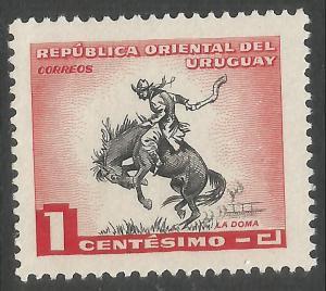 URUGUAY 606 MOG HORSE E172-2