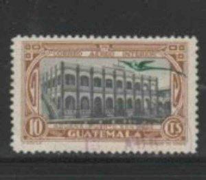 GUATEMALA #C39 1935 15c PORT SAN JOSE F-VF USED