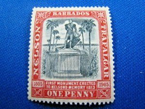 BARBADOS  1906  -  SCOTT # 104   MH