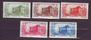 J23812 JLstamps 1939 french mauritania set mnh #b4-8 french revolution type