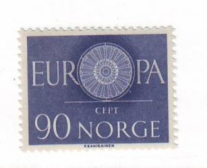 Norway Sc 387 1960 Europa stamp NH
