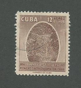 1957 Cuba Scott Catalog Number C157 Used