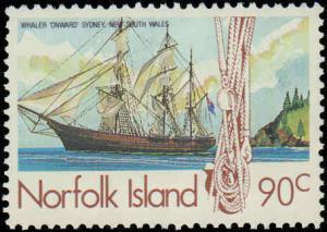1985 Norfolk Islands #356-363, Complete Set(8), Never Hinged