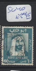 ABU DHABI  (P2202B)  SHEIKH 60F     SG 40  VFU