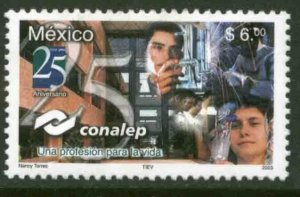 MEXICO 2344, TECHNICAL EDUCATION COLLEGE, 25th ANNIVERSARY. MINT, NH. VF.
