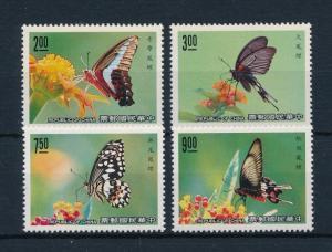 [53261] Taiwan 1989 Butterflies Schmetterlingen Papillons  MNH