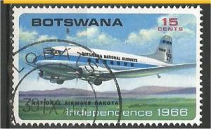 BOTSWANA, 1966, used 15c, Dakota, Scott 3