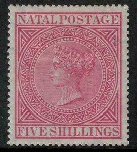 Natal 1874-1878 SC 57 Mint