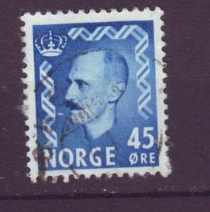 J18371 JLstamps 1950 norway used #313 king