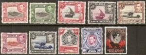 Kenya Uganda Tanganyika 1938-54 Scott 66-85 King George & various MH