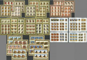 KS 2002-2003 ART ARCHITECTURE MONUMENTS OF EGYPT 50SH MNH